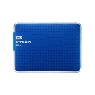 Disque dur 1TO WESTERN DIGITAL MYPASSPORT ULTRA BLUE pour 100€