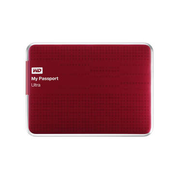 Disque dur 1TO WESTERN DIGITAL MYPASSPORT ULTRA RED pour 100€